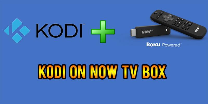 Kodi app on Now tv box