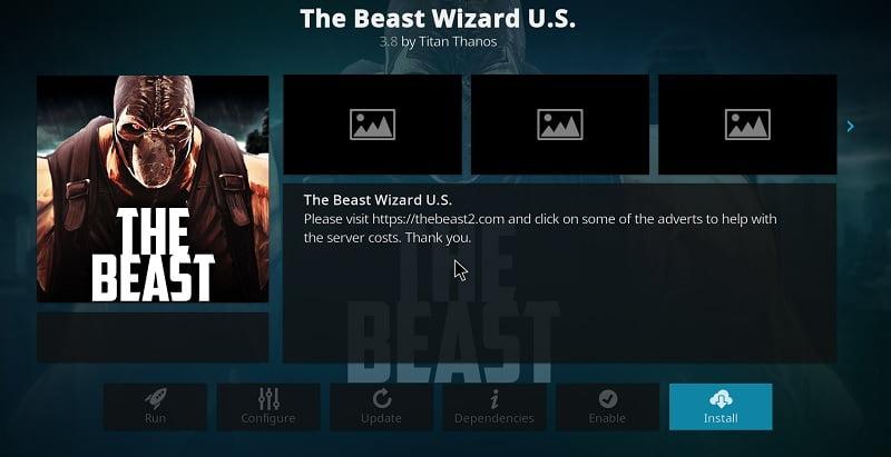 Beast Wizard U.S