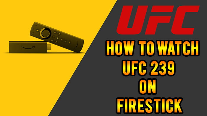 ufc 239 on firestick