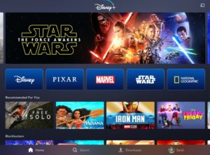 Disney Plus UI Image