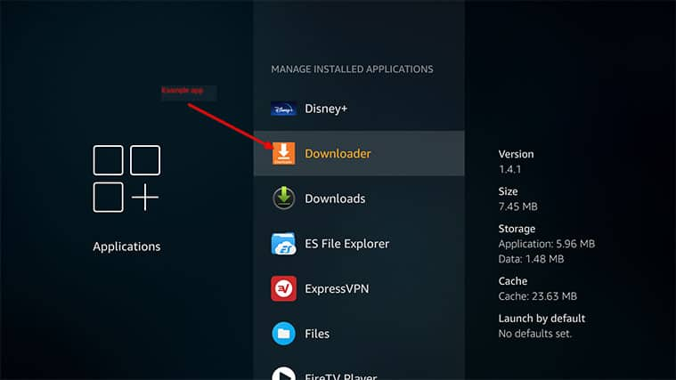 An image featuring the best way how to clear FireStick cache step5