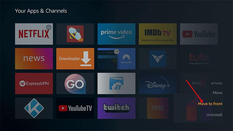 An image featuring Step-by-Step Guide on How to Get Mobdro on FireStick Home Screen step3