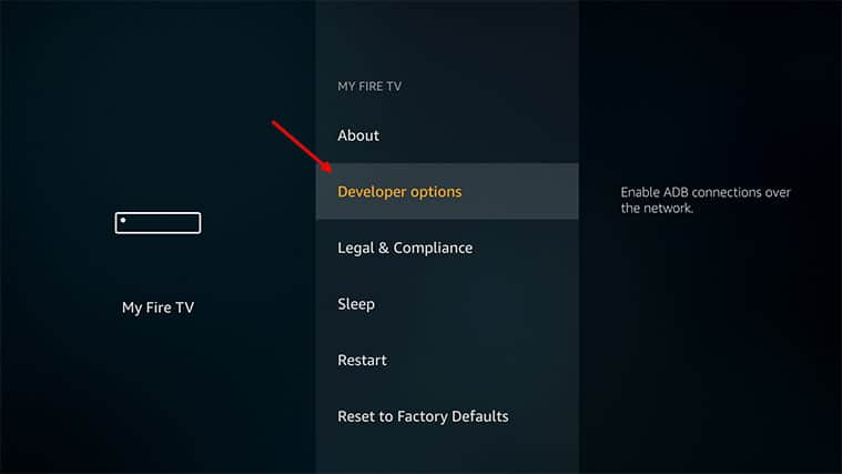 An image featuring How to Install ThopTV on FireStick step 1c