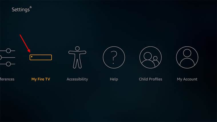 An image featuring how to Enable Third-Party Apps on Your FireStick to Install Freeview on FireStick step1a