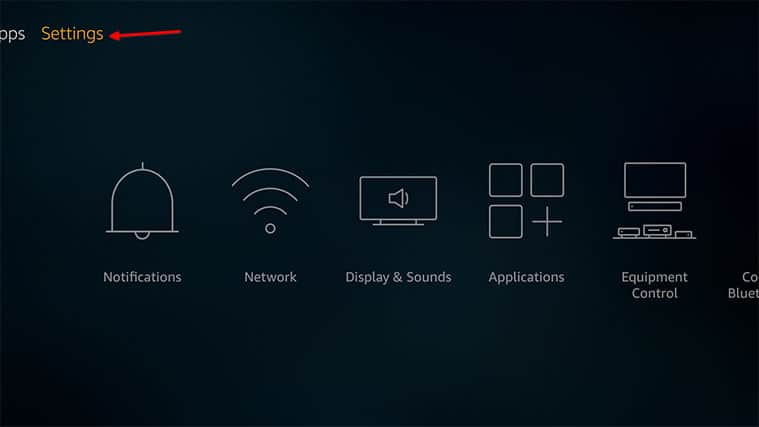 An image featuring how to install NordVPN on FireStick manually step1