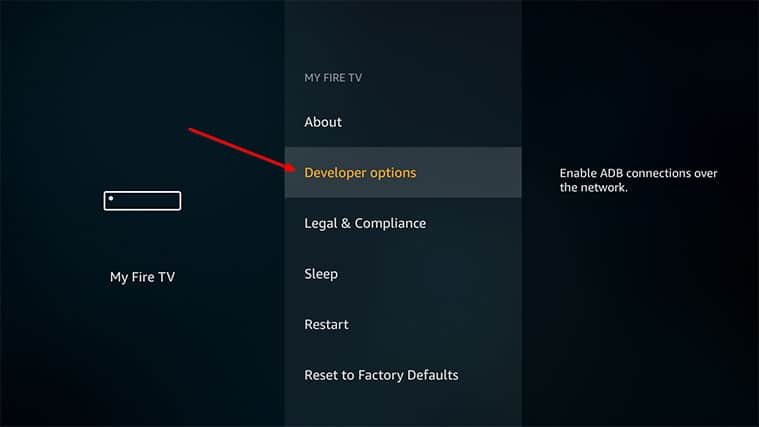 An image featuring how to install NordVPN on FireStick manually step3