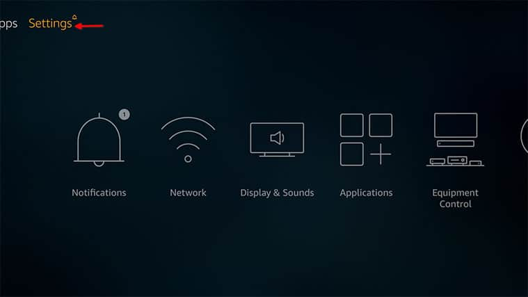 An image featuring how to fix Firestick not playing sound problem by checking apps step2