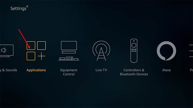 An image featuring how to fix Firestick not playing sound problem by checking apps step3