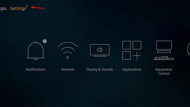 An image featuring how to fix Firestick not playing sound problem by updating your FireStick device step2