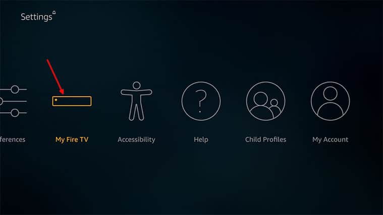 An image featuring how to fix Firestick not playing sound problem by updating your FireStick device step3