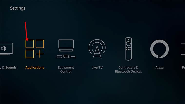 An image featuring how to remove excess apps on your FireStick device step2