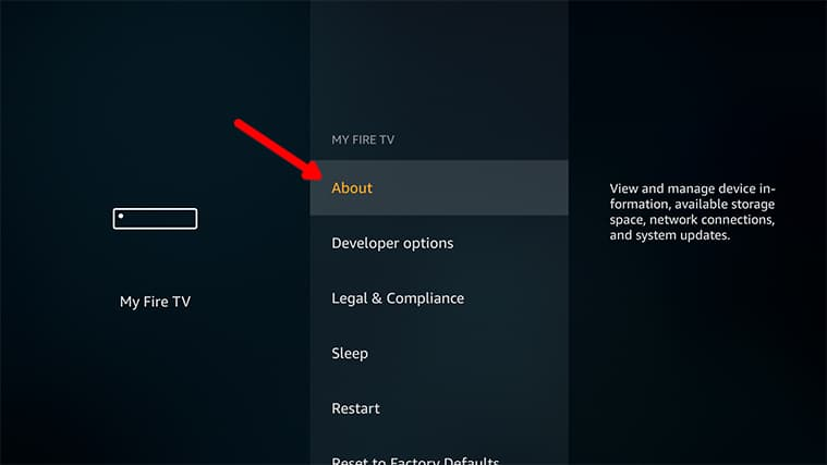 An image featuring how to connect your FireStick device to the 5ghz channel step2c