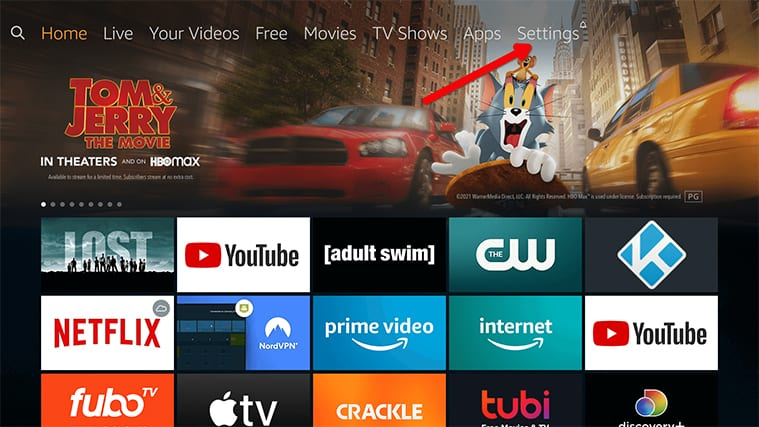 An image featuring how to Access The Display Calibration Feature on FireStick step2