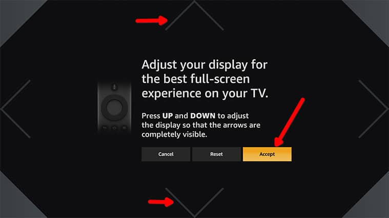 An image featuring how to Access The Display Calibration Feature on FireStick step5
