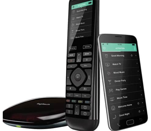 An image featuring the Logitech Harmony Remote Elite