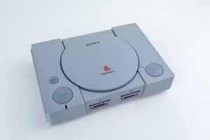 An image featuring the PlayStation 1 video game console