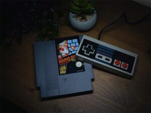 An image featuring the Nintendo Entertainment System video game console