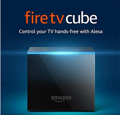 An image featuring the Amazon Fire TV Cube