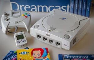 An image featuring the Dreamcast video game console