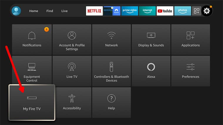An image featuring how to install Apollo TV on FireStick step2