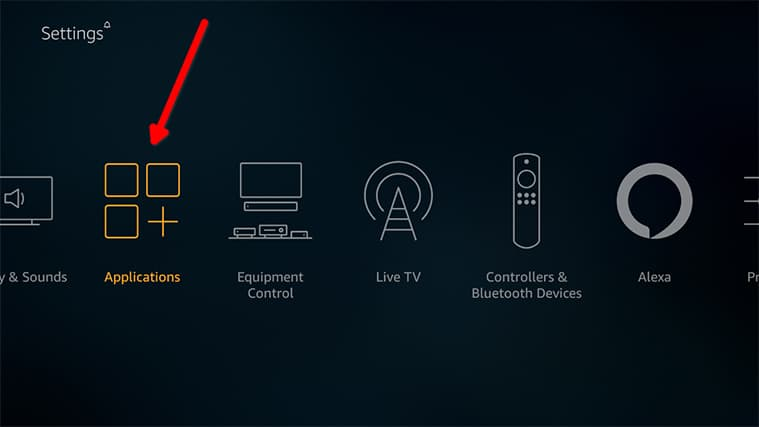An image featuring how to Install RetroArch emulator directly on your Fire TV for Amazon Fire TV Stick step2