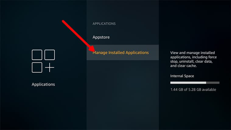 An image featuring how to Install RetroArch emulator directly on your Fire TV for Amazon Fire TV Stick step3