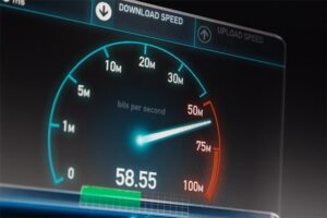 An image featuring download speed concept
