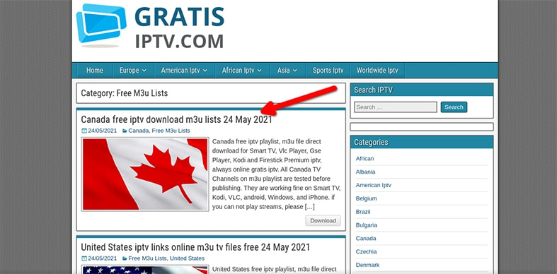 An image featuring how to set up Gratis IPTV in FireStick step19
