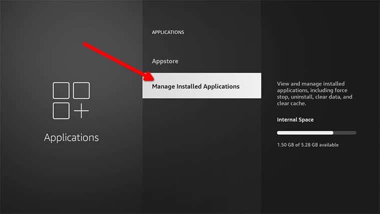 An image featuring how to set up Gratis IPTV in FireStick step21c