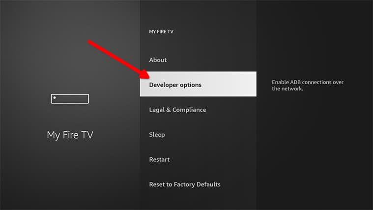 An image featuring how to set up Gratis IPTV in FireStick step4