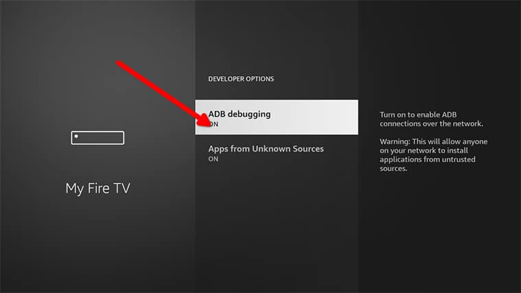 An image featuring how to set up Gratis IPTV in FireStick step6
