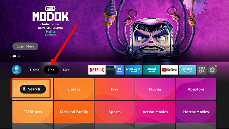 An image featuring how to set up Gratis IPTV in FireStick step8