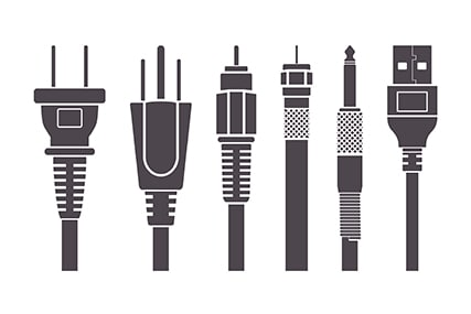 An image featuring multiple TV cables