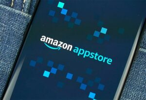 An image featuring the Amazon app store concept